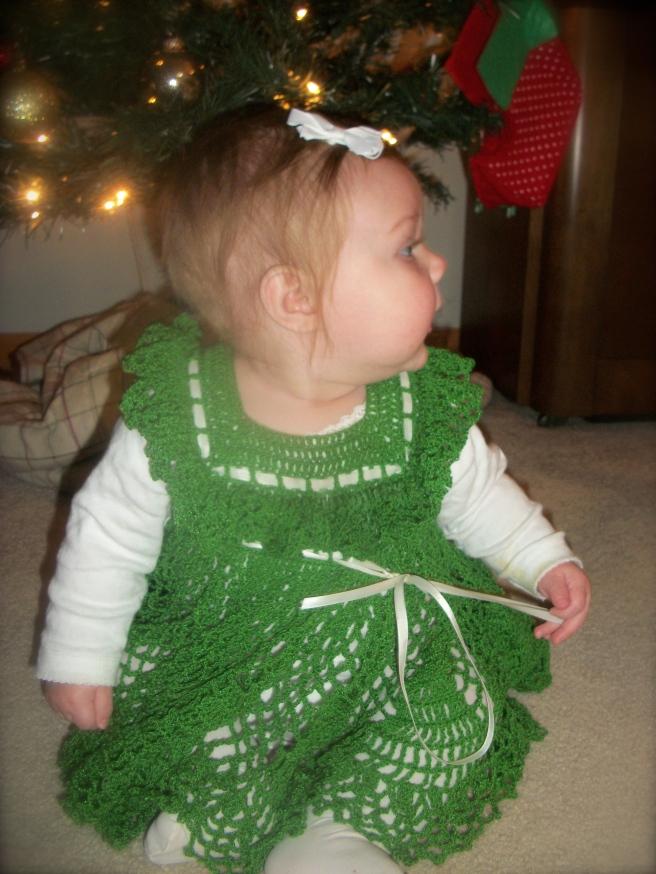 Afton's Adorable Christmas Dress